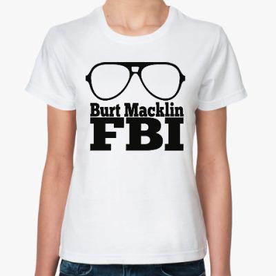 Классическая футболка Берт Маклин (Парки и зоны отдыха)