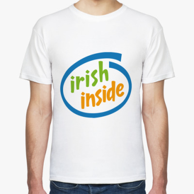Футболка irish inside