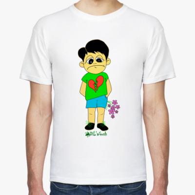"""Футболка Муж.футболка """"Мальчишка"""""""
