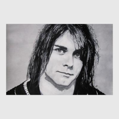 Постер Kurt Cobain