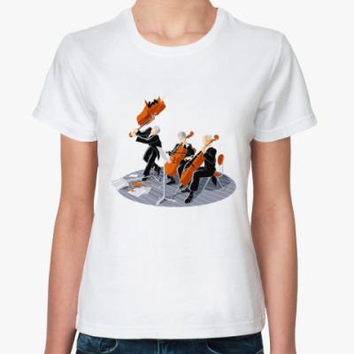 Классическая футболка Панк