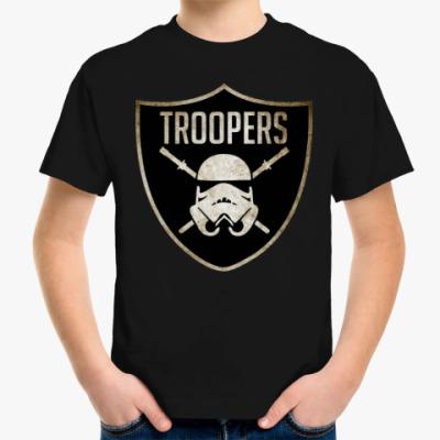 Детская футболка TROOPERS