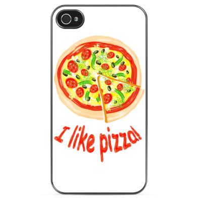 Чехол для iPhone Любишь пиццу?