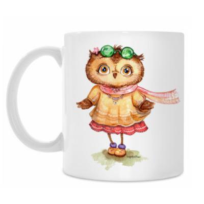 Кружка Boho Owl