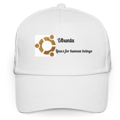 Кепка бейсболка UBUNTU