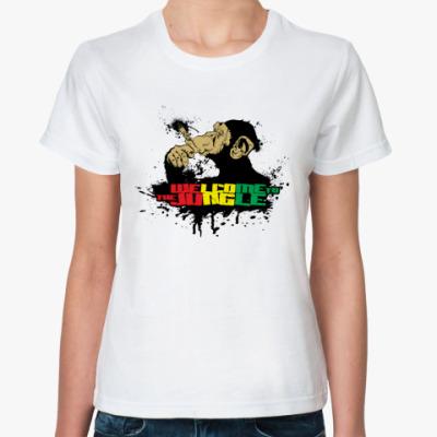 Классическая футболка Welcome to the Jungle