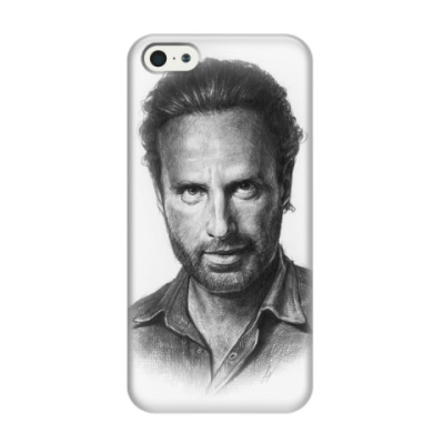 Чехол для iPhone 5/5s Andrew Lincoln the walking dead
