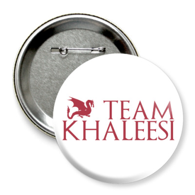 Значок 75мм Команда Кхалиси