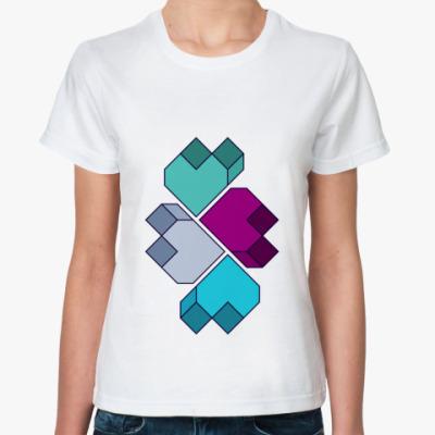 Классическая футболка Hearts