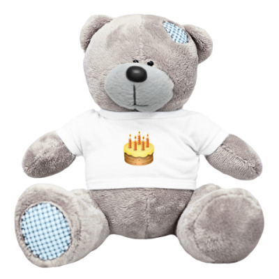 Плюшевый мишка Тедди С днём рождения!