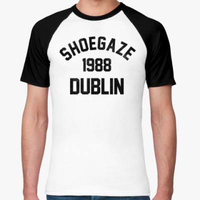 Футболка реглан Shoegaze Dublin 1988