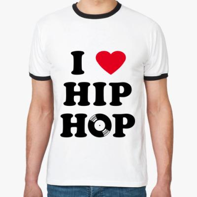 Футболка Ringer-T I Love Hip-Hop