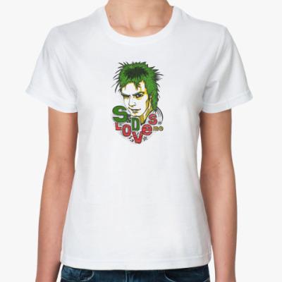 Классическая футболка SidLovesMe