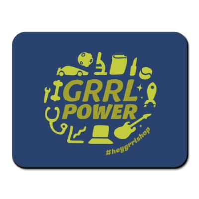 Коврик для мыши Grrl Power коврик для мыши