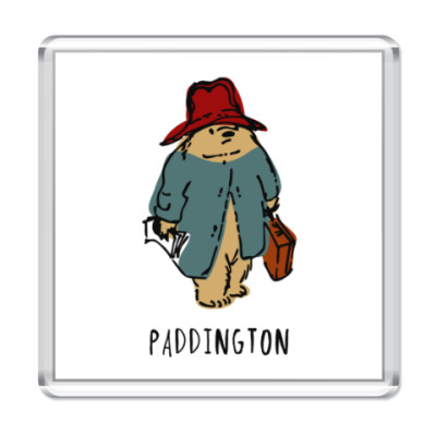 Магнит Paddington Bear