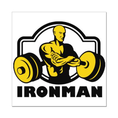Наклейка (стикер) Ironman