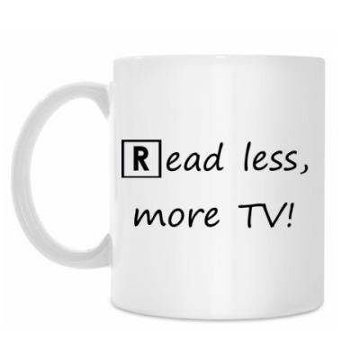 Кружка Read Less