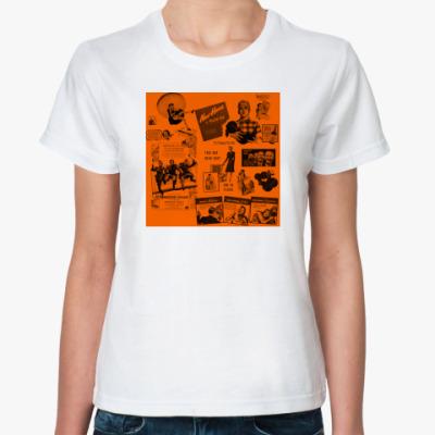 Классическая футболка Ретро мода