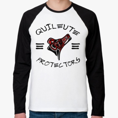 Футболка реглан с длинным рукавом Quileute