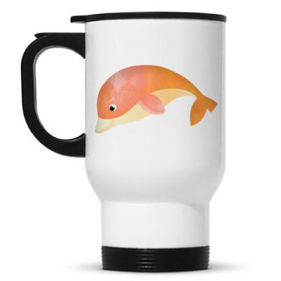 Кружка-термос Дельфин