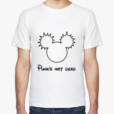 Футболка punk's not dead