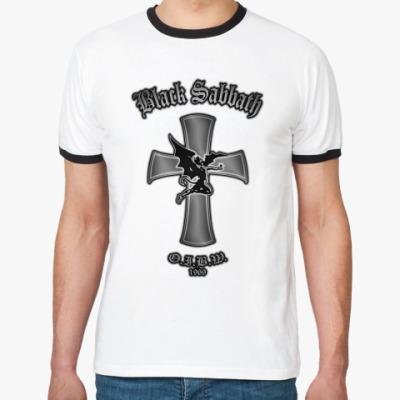 Футболка Ringer-T Black Sabbath