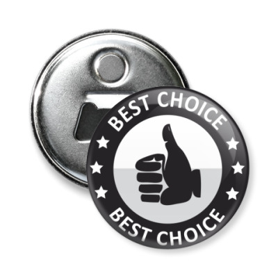Магнит-открывашка Best choice