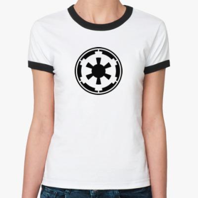Женская футболка Ringer-T Imperial forces
