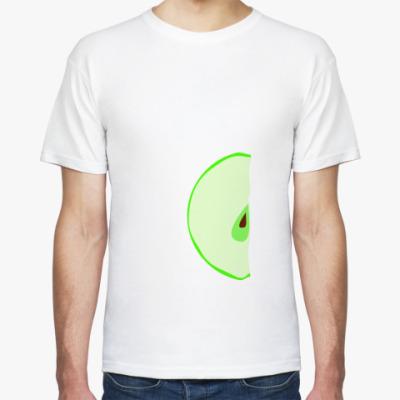 Футболка Половина яблока