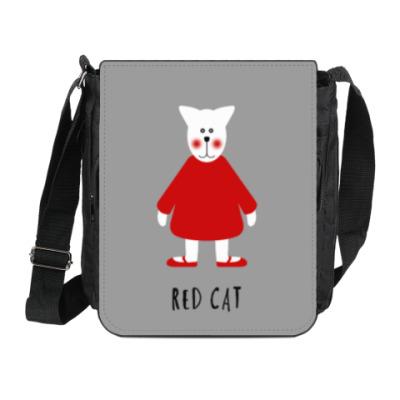 Сумка на плечо (мини-планшет) Red Cat