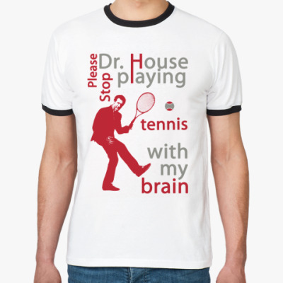 Футболка Ringer-T House tennis