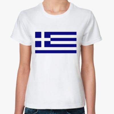 Классическая футболка  Греция