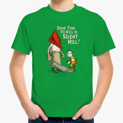Детская футболка Silent Hill Pyramid Head
