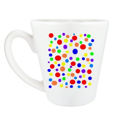 Чашка Латте 'Горох'