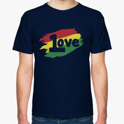 Футболка 1 Love