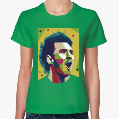 Женская футболка Color Messi