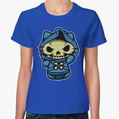 Женская футболка Kitty Скелетор