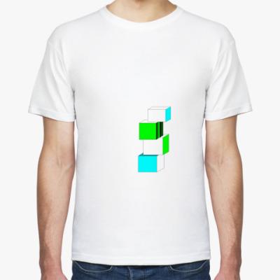 Футболка cubes
