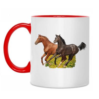 Кружка Лошади