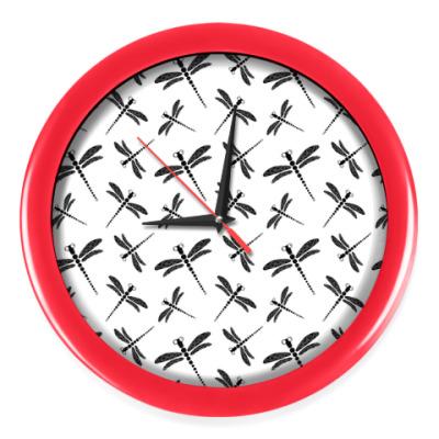 Настенные часы Стрекозы