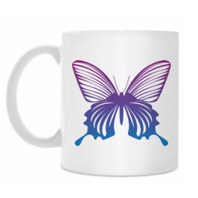 Кружка Бабочка Butterfly Vintage