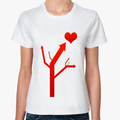 Классическая футболка 'Heart'