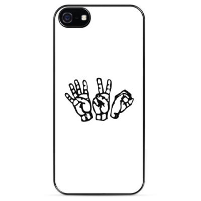 Чехол для iPhone 420 hands