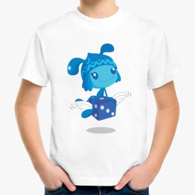 Детская футболка На кубике