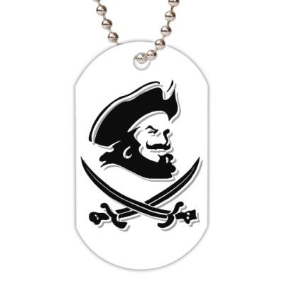 Жетон dog-tag Капитан Пират