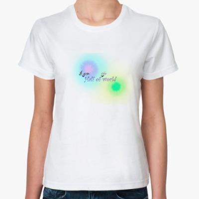 Классическая футболка dream