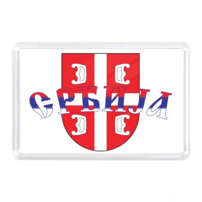 Магнит Сербский щит