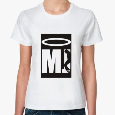 Классическая футболка MJ is Saint