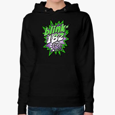 Женская толстовка худи Blink-182