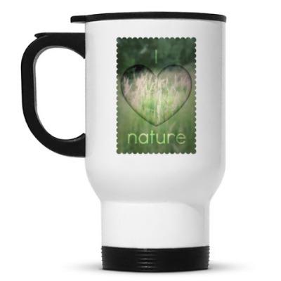Кружка-термос 'I Heart Nature'